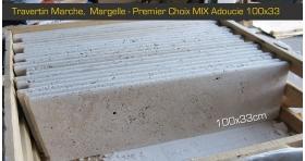 Margelle marche 100x33x3cm Premier Choix Mix