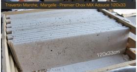 Margelle marche 120x33x3cm Premier Choix Mix