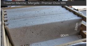 Margelle marche 90x33x3cm Premier Choix Mix